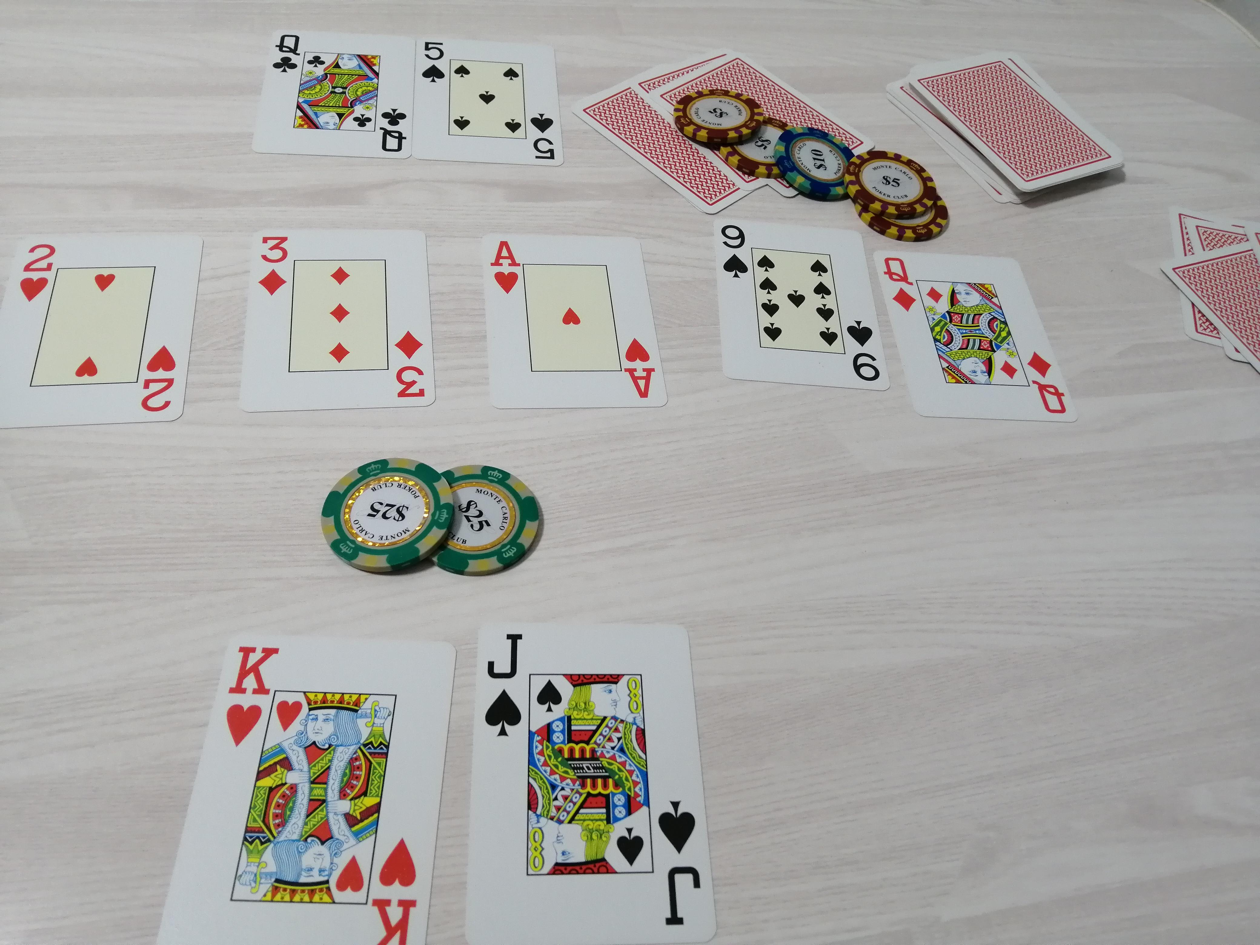 ポーカー ブラフ失敗